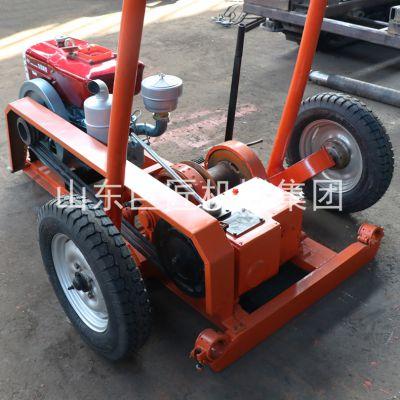 巨匠现货供应冲击式取沙钻机SH30-2A型地质钻探取沙钻机设备