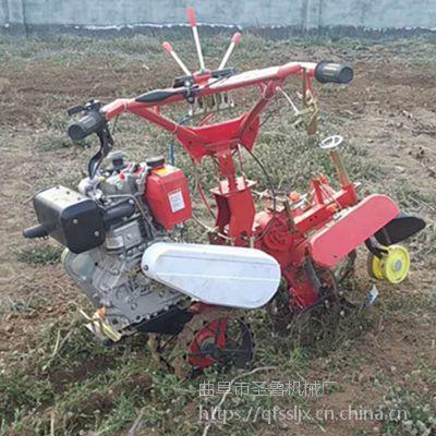 小型培土管理机 开沟培土机工作视频 圣鲁牌