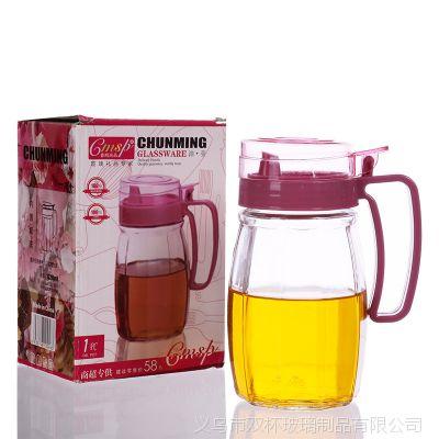厂家直销  批发厨房用品厨宝单只装 玻璃控油壶调味罐一件套装