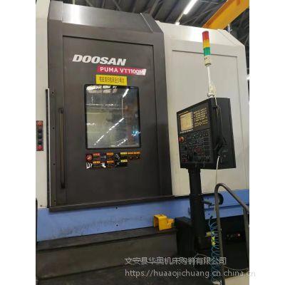 9成新 原装正品韩国斗山PUMA VT1100M车削中心