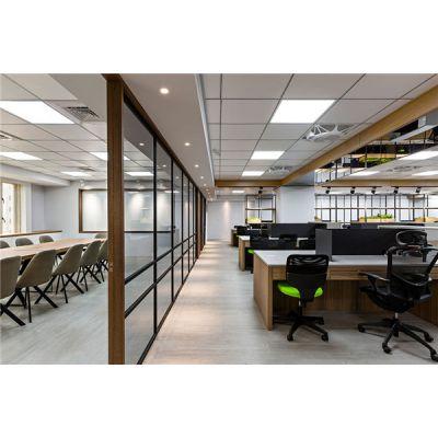 合肥办公室装修隔断如何设计适应现代工作需要?