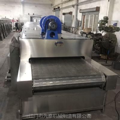 先泰不锈钢制品喷淋清洗机 工业用蒸汽加热喷淋清洗烘干线