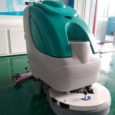 海川全自动洗地机 商场医院手推式电动扫地机 工厂车间手推洗地机
