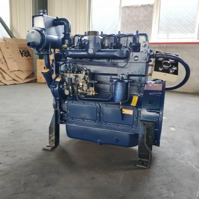 潍坊ZH4102C船用柴油机自然吸气2000转 44KW船用齿轮箱变速箱发动机