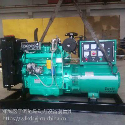 潍柴股份100KW柴油发电机组纯铜无刷电机 足功率柴油机