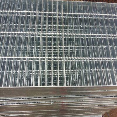 平台钢格板厂家 钢格板图集 下水沟盖板