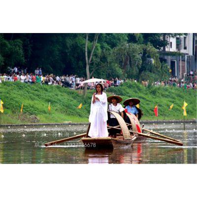 非物质文化遗产厂家 定制乌篷船 仿古小木船可定制