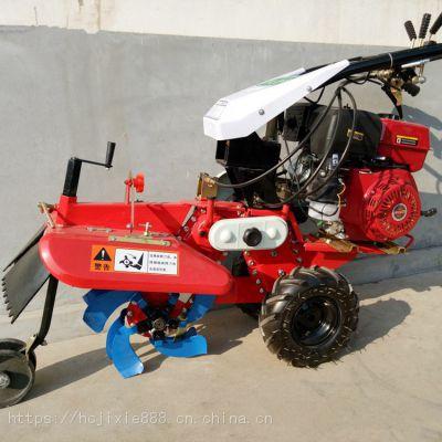 柴油大马力除草旋耕机 轻便四驱旋耕机 小型耕地机