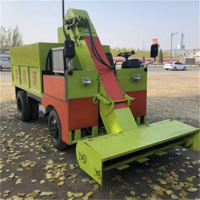 柴油三轮清粪车 自动RF-QF-2清粪车润丰