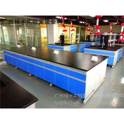 生产定制各种颜色钢木实验台