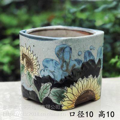加高款陶瓷花盆 特大码陶瓷花盆 简约个性陶瓷花盆批发厂家