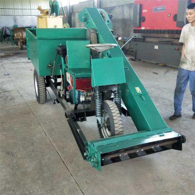 加工定制养殖场清粪车 柴油机三轮刮粪车 自动清粪车