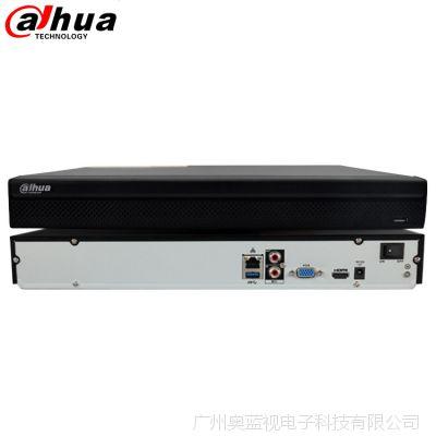 大华网络硬盘录像机NVR监控主机2盘位DH-NVR4208-HDS2高清远程