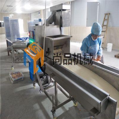 黄金玉米烙裹浆裹屑上糠机 油炸玉米酥全自动裹糠机