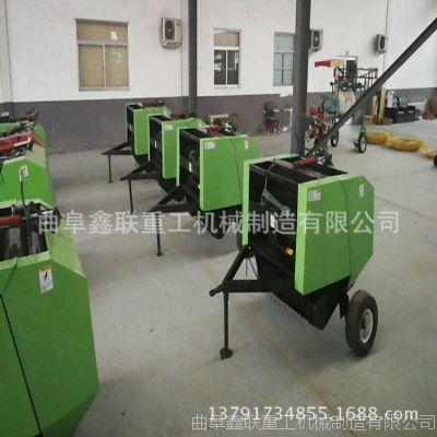 河北地区捡拾打捆机配套设备多大马力 行走式自动进料捆草机厂家价格