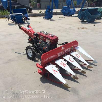 特价直销手扶前置玉米秸秆割晒机 多用途柴油手扶式稻草收割机