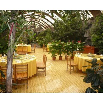 山西大型生态餐厅-生态餐厅-益兴诚钢构工程公司(查看)