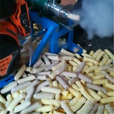 多功能玉米谷物膨化机 多花样食品膨化机图片 十用香酥果膨化机