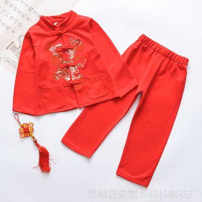 新款网店代理秋季儿童套装男童装 厂家直销一件代发童装秋装2018