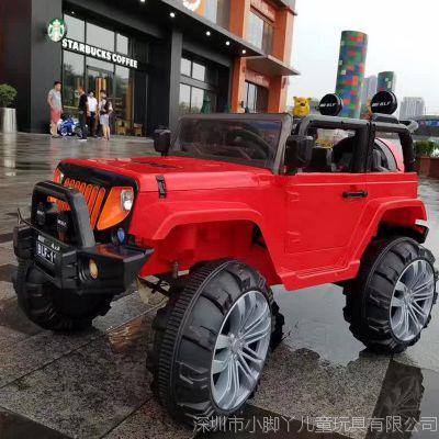 儿童电动车四轮汽车1-7岁小孩玩具车带遥控四驱越野车可坐人童车