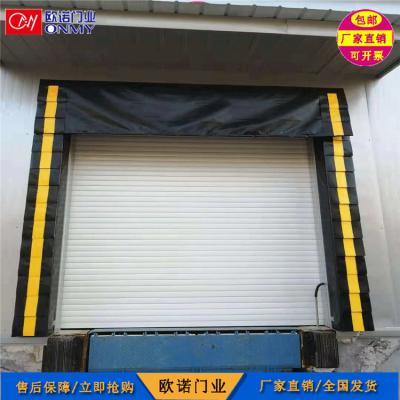 河北厂家供应 冷库车间仓库防撞门封 固定挂帘式门封