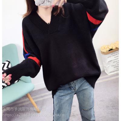 工厂低价便宜清女式毛衣地摊货韩版女装毛衣打底衫处理5-10元尾货批发