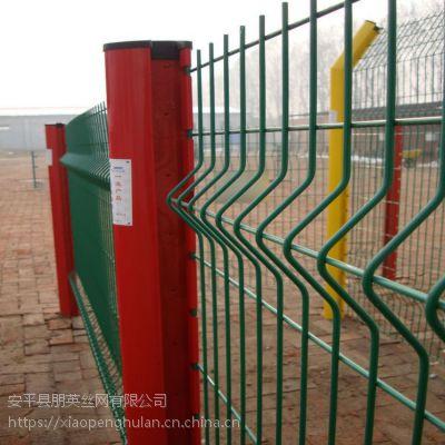 朋英 厂家直销桃型柱护栏 钩挂式护栏 镀锌喷塑