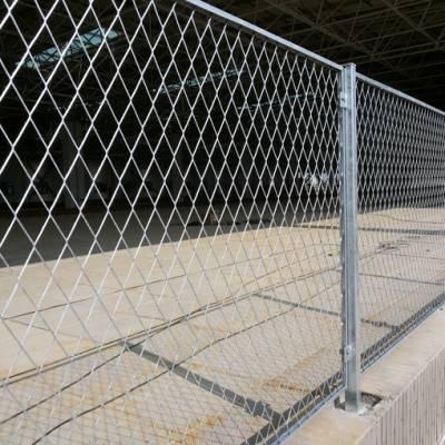 琼海绿化带分离网护栏铁丝网批发 海棠公园边框围栏金属网