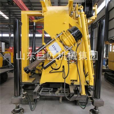 华夏巨匠出口XYD-3履带式液压水井钻机汽车变速箱600米深孔水井钻机
