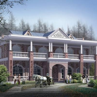 石家庄轻钢别墅 未来20年建房潮流 环保装配式建筑