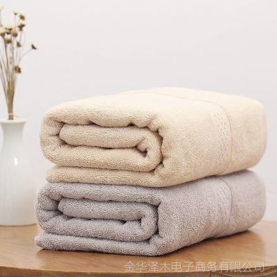 柔软成人浴巾纯棉个性吸水大号情侣可裹裕巾不掉色不掉毛酒店浴巾