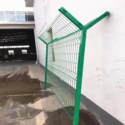 浸塑围栏网 双边丝护栏网 圈地铁丝网厂家