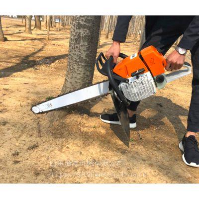 果园起树机价格 浩发手扶式苗木起球机