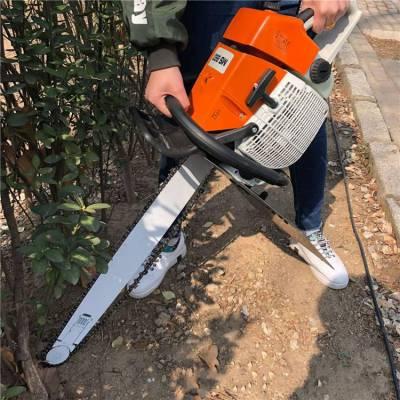 农用汽油挖树机视频 润丰 断树根用铲树刨树机 断根起苗机