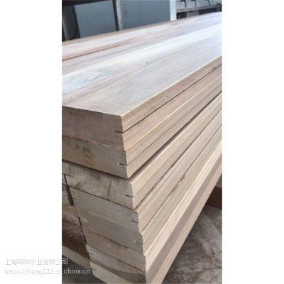 巴劳木地板定做原木开料任意规格厂家价格