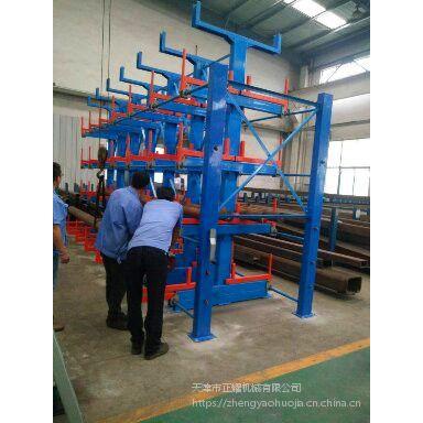 无锡重型钢材货架价格 伸缩悬臂货架安装流程 放管材专用