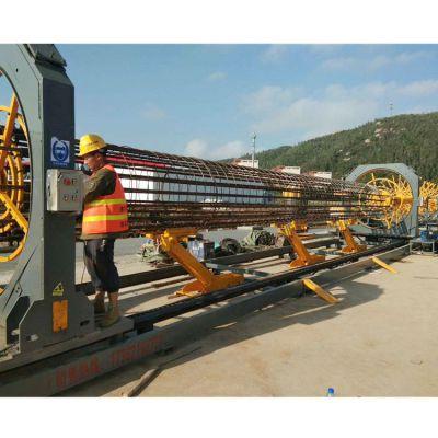东硕机械全自动钢筋笼滚焊机 数控钢筋笼成型机