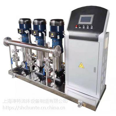 不锈钢恒压变频供水设备/不锈钢恒压生活成套变频供水设备