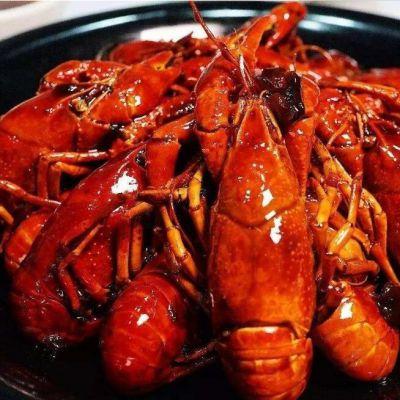 麻辣龙虾成套生产线 龙虾清洗卤制油炸机生产线 自动除渣式龙虾油炸生产线