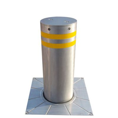 【宿州派出所电动液压防撞柱】博进宿州政府单位安防全自动升降柱路桩