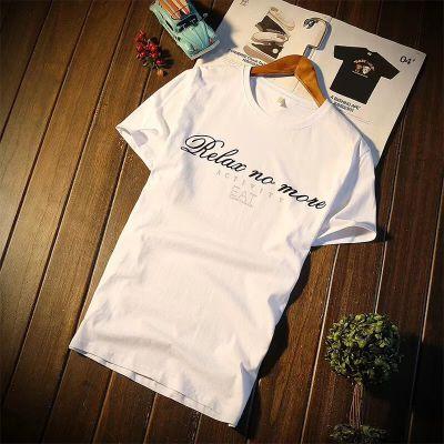 广州2元t恤批发 外贸原单男装 男士夏季T恤韩版短袖 地摊衣服批发