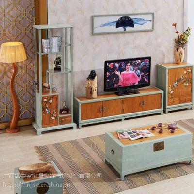 图绘置搁箱屉架 来宾古典饰物架 贵港中式实木家具