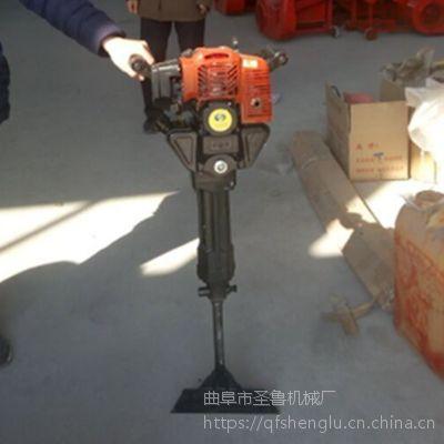 小型便携式挖树机 汽油便携式起树机 圣鲁机械