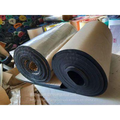 铝箔自粘30mm橡塑海绵保温隔热阻燃材料定制屋顶隔热水管
