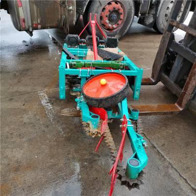 供应河北沧州疯狂链条花生收获机 小四轮单笼花生收割机 新型起笼花生收获机