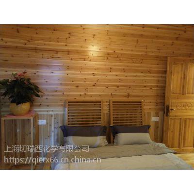案例:室内家装设计木墙使用木蜡油涂刷效果
