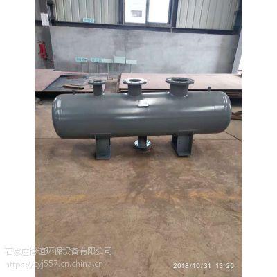 供应石家庄暖通分集水器 多规格压力容器 博谊设计定做