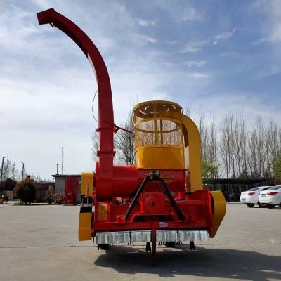 黑龙江秸秆粉碎回收机图片 自走式回收机报价 拖拉机带动