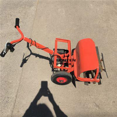 现货供应手推电动锄头 轻便型电动除草机 背负式割草机
