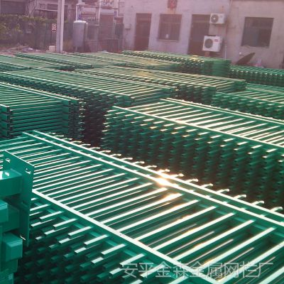 锌钢楼梯扶手@烟台锌钢护栏厂家@四横梁花园铁艺护栏